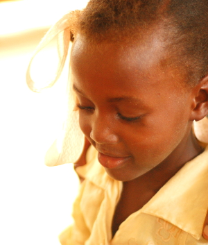 Petite Fille Haïti