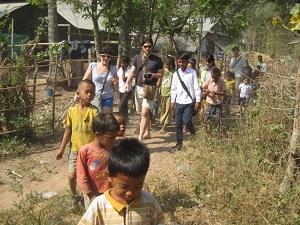 Marche Enfants et Bénévoles