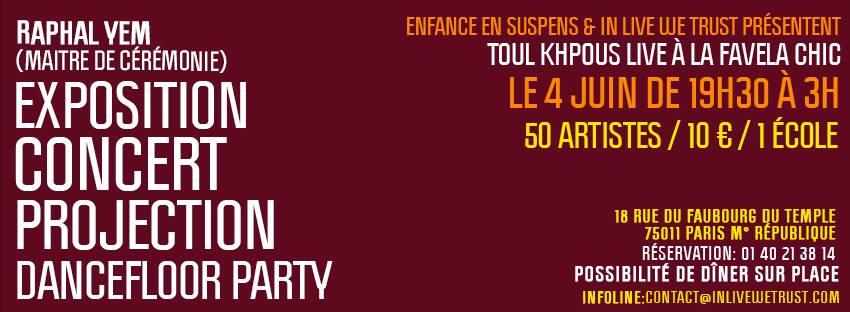 Toul Khpous Live